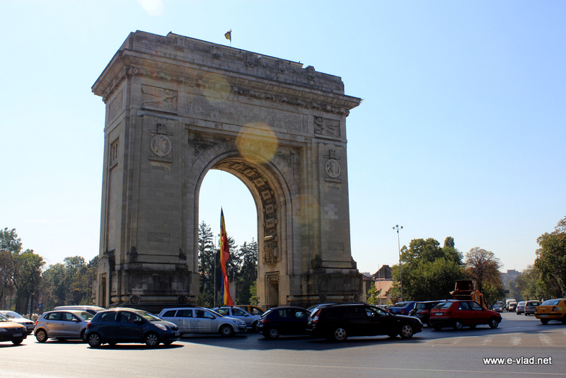 Bucharest, Romania - Arch of Triumph