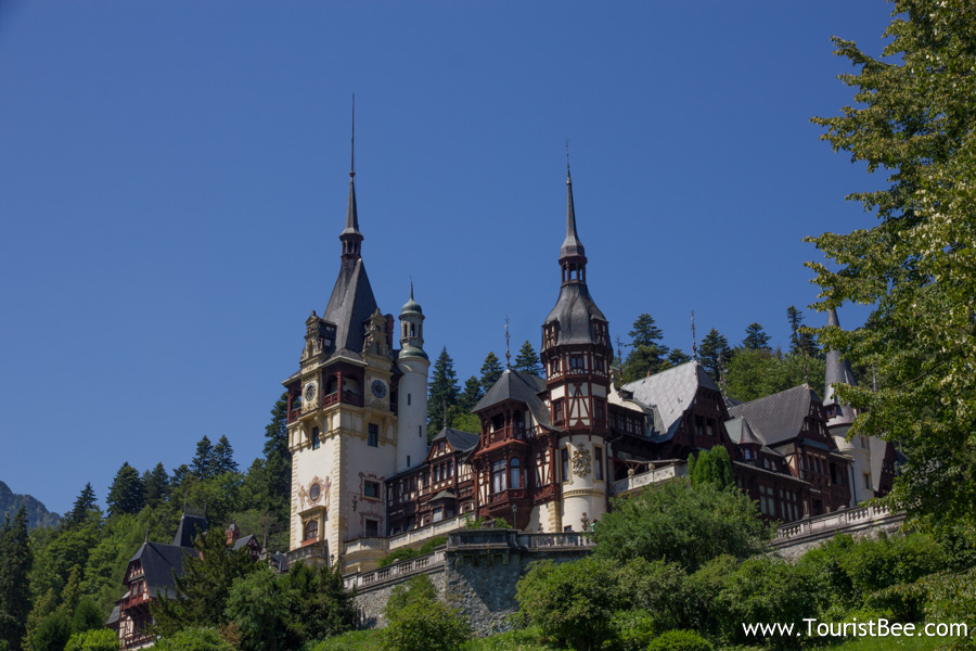Peles Castle is the most visited of the Romanian Castles.