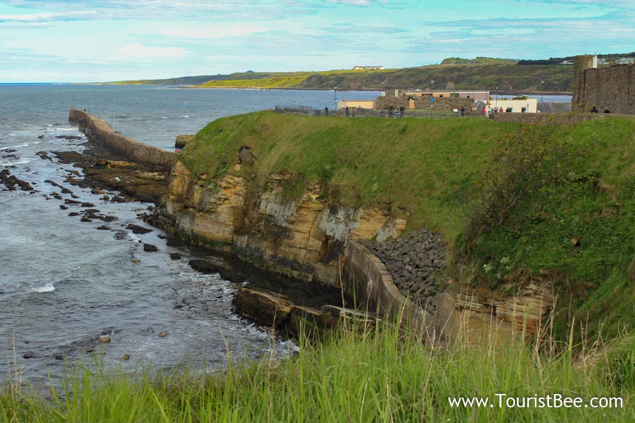 St Andrews, Scotland - Rugged coastline at St Andrews