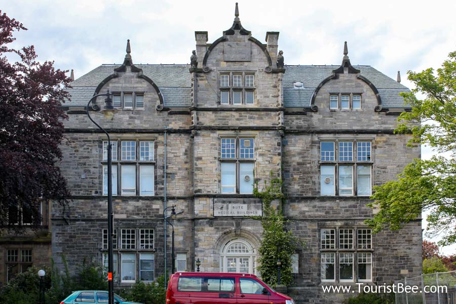 St Andrews, Scotland - The Bute Medical Buildings part of the school of medicine at University of Saint Andrews.