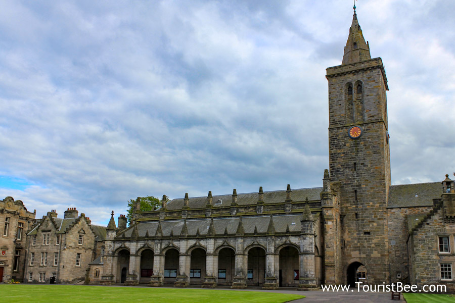 St Salvator's Chapel is one of the beautiful places to see in St. Andrews