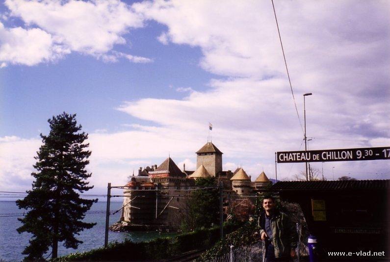 Montreux, Switzerland - Chateau de Chillon