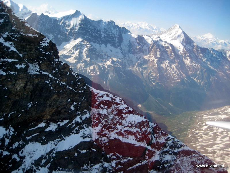 valee switzerland the of bietschorn mountain range in the swiss alps