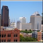 Saint Paul, Minnesota - downtown view.