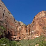 Thumbnail of Ragged cliffs at Zion National Park