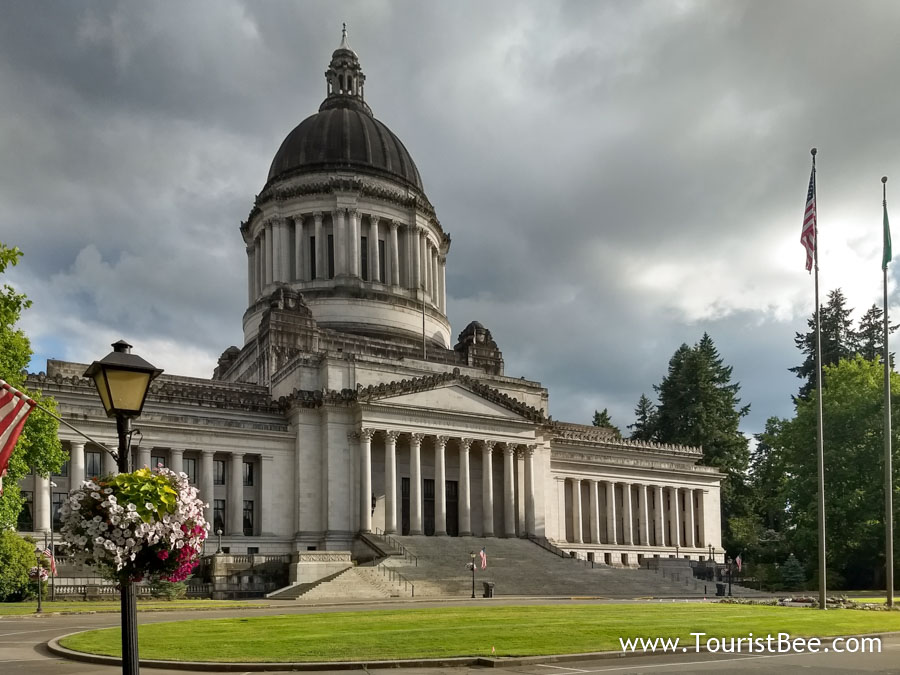 Olympia, Washington - The Washington State Capitol building
