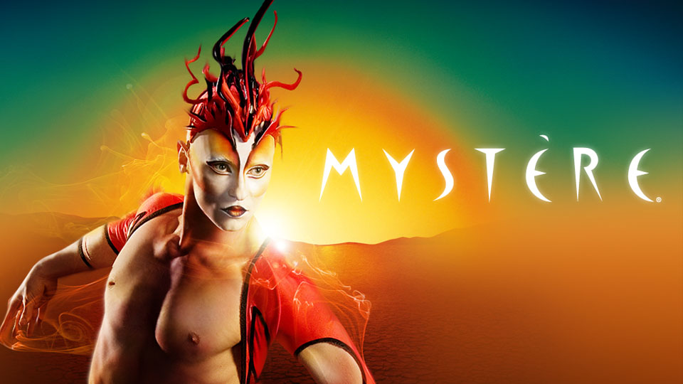 Mystere by Cirque du Soleil is a great family attraction