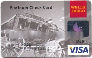 Wells Fargo ATM Card