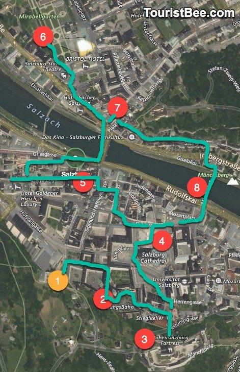 In depth walking tour of Salzburg Austria TouristBeecom
