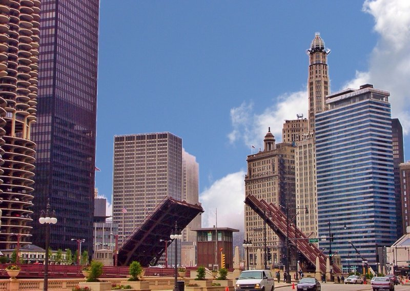 The Loop District is a great place to walk in Chicago