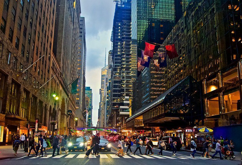 The streets of New York are best seen by walking
