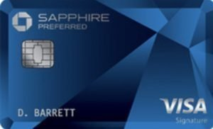 My favorite travel credit card is the Chase Sapphire