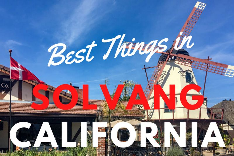 Admiring Danish architecture is one of the best things to do in Solvang