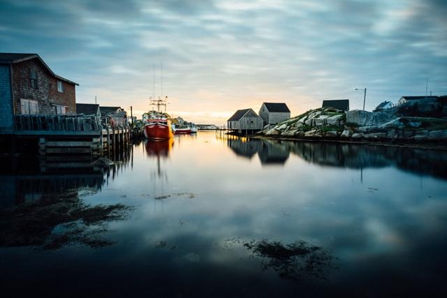 Fishing village on the East Coast
